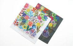 Hibino kodue / ひびのこづえ/ハンカチ「FLOWERS」