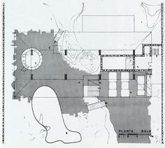 RNDRD is a frequently-updated partial index of architectural drawings and models scanned from design publications throughout the century. Maps, 1960s, Presentation, Diagram, How To Plan, Architecture, Drawings, Illustration, Arquitetura