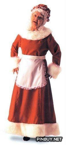 You can quit browsing for Halloween costumes for women now. You've struck gold. This Santa Dress Long Adult Women's Costume is an astounding way . Halloween Costumes For Teens, Christmas Costumes, Adult Costumes, Costumes For Women, Halloween Night, Halloween Ideas, Mean Girls, Mrs Santa Claus Costume, Santa Clause