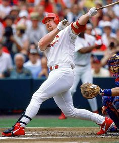 Mark McGuire was a terrific baseball player for the time that he played.  He also hit an enormous amount of home runs while playing, however he used steroids to help him get there.