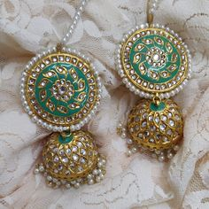 Indian Asian Bollywood Chand Bali jhumki earrings with silver Kundan stones. Also available in different colours. In stock & ready to ship. Jewellery Uk, Fashion Jewellery, Bollywood Costume, Jhumki Earrings, Bollywood Jewelry, Indian Wedding Jewelry, Asian Bridal, Jewelry Companies, Bridesmaid Jewelry