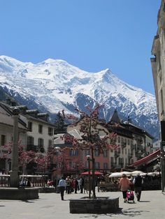 Chamonix, France. French Alps.....had a very memorable Christmas here skiing one year.