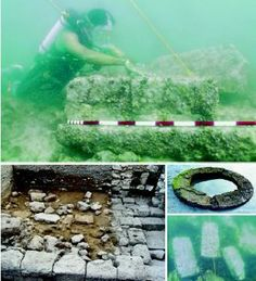 ~Hare Krsna~Dwaraka - A LOST CITY RECOVERED -Dwaraka was a western Indian city submerged by the sea right after the death of Sri Krishna. Unexplained Phenomena, Unexplained Mysteries, Ancient Mysteries, Ancient Artifacts, Ancient Aliens, Ancient History, Underwater Ruins, Sunken City, France Culture