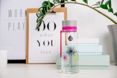 The Dandelion bottle from Illusion collection is soft and romantic. Pour some water into the bottle and watch the illustration on the back and front make a dynamic water illusion. The Dandelion bottle is perfect for all of us who still like to blown the Dandelion and hope for a wish to come true. #equabottle #bpafree #waterbottle #ecologicalbottle #design #equa #dandelion