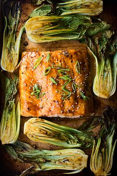 This Salmon Teriyaki with Bok Choy is a one pan dinner that will take no longer than 30 minutes to be on your table. Easy and delicious.
