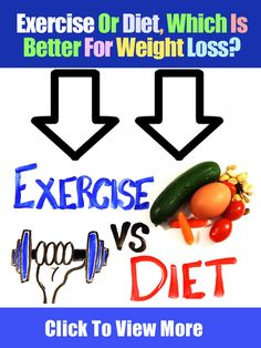 Exercise Or Diet, Which Is Better For Weight Loss?