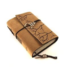 Roots, Leather Journal, Book, Handmade