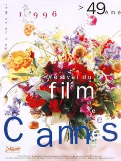 Cannes Film Festival Poster 1996.  I've always wanted this framed.