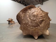 British sculptor Marc Quinn creates a multitude of large-scale structures that draw a resemblance to nature. His latest works, a series of giant bronze Pottery Sculpture, Bronze Sculpture, Sculpture Art, Sculpture Ideas, Marc Quinn, Shell Collection, Beach Wall Art, Modern Metropolis, Coastal Art