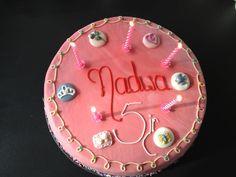 Roze verjaardagstaart - via http://bit.ly/epinner