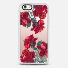 Red Roses (Transparent) - New Standard Case