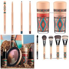 MAC Vibe Collection for Summer 2016 • The liners, nail polishes, and makeup brushes