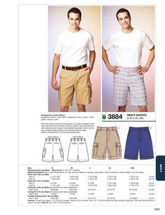 K3884 Mens' Shorts