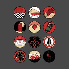 Image result for twin peaks symbol