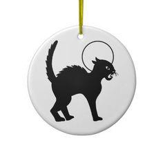 Halloween Black Cat & Moon - 10