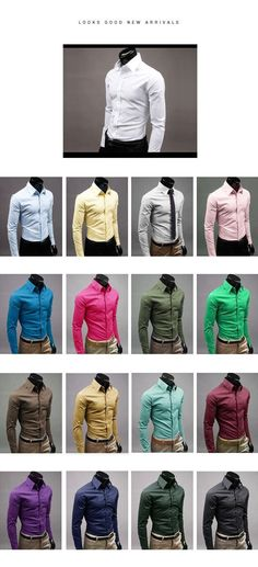 Designer Luxury Men Formal Shirt Casual Suits Slim Fit Dress Shirts With Free Tie & Handkerchief , Online Shopping , Thieves Market Online Black Outfit Men, Formal Men Outfit, Slim Fit Dress Shirts, Fitted Dress Shirts, Casual Suit, Men Casual, Mens Clothing Styles, Apparel Clothing, Men's Apparel