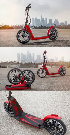 #CitySurfer : the signed MINI electric scooter