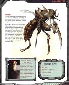 Starship Troopers, Rear Ended, Enemies, Vulnerability, Claws, Swift, Bodies, Bugs, Things To Come