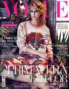 Vogue Portugal April 2014 | Juliana Schuring by Sharif Hamza