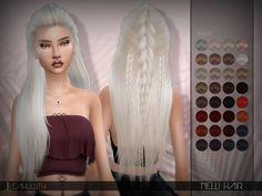 Sims 4 CC's - The Best: LeahLillith Nelli Hair