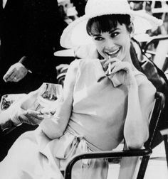 Audrey Hepburn is the definition of classy.