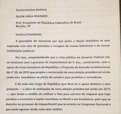 carta-senadores-dilma.Fizeram parte da mobilização os petistas: Jorge Viaja (AC), Paulo Paim (RR) e Angela Portela (PT-RR) e os senadores: Randofe Rodrigues (Rede-AP), Lídice da Mata (PSB-BA), Roberto Requião (PMDB-PR), Otto Alencar (PSD-BA), Vanessa Grazziotin (PCdoB-AM), Telmário Motta (PDT-RR) e João Capiberibe (PSB-AP).