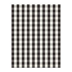 BERTA RUTA Fabric - big check/black - IKEA