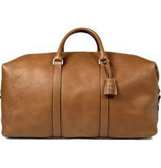 Clipper Leather Holdall | MR PORTER