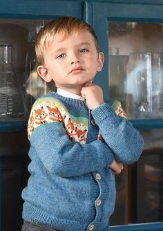 Ravelry: Revejakken pattern by Anita Brathetland Knitting Wool, Fair Isle Knitting, Knitting For Kids, Knitting Ideas, Intarsia Patterns, Sweater Knitting Patterns, Knit Patterns, Crochet Hooks, Crochet Baby