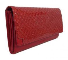 Überschlagbörse Claudio Ferrici Lackleder geprägt Reptil Tresor - Bags & more Zip Around Wallet, Bags, Reptiles, Pocket Wallet, Leather, Handbags, Bag, Totes, Hand Bags