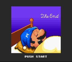 Final para Super Mario All Stars-Super Mario Bros. 2 (Super NES)
