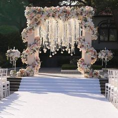 Wedding party Arches and Backdrops from nebodecor marriage ceremony weddings weddingideas himisspuff Wedding ceremony Arches and Backdrops from nebodecor Wedding Ceremony Arch, Wedding Venues, Wedding Arches, Wedding Ceremonies, Backdrop Wedding, Wedding Entrance, Floral Backdrop, Wedding Stage, Ceremony Backdrop