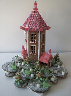 Gingerbread Moominhouse by Look at my photos, via Flickr