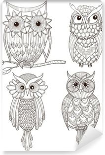 Owl Adult Coloring Page Luxury 100 Free Coloring Pages for Adults and Children Owl Coloring Pages, Colouring Pics, Coloring For Kids, Printable Coloring Pages, Coloring Sheets, Coloring Books, Children Coloring Pages, Zentangle, Desenho Tattoo