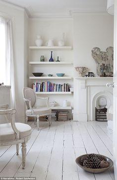 Interiors Comfort Joyeux Painted Floorboardspainted Floorswhite