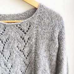 KNIT PATTERN Sweet Sweater  english and french by MarcelleetClo