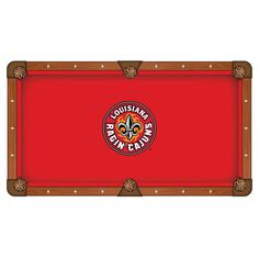Louisiana Ragin' Cajuns Pool Table Cloth
