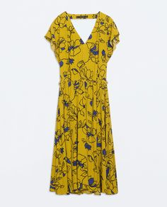 Image 6 of PRINTED DRESS WITH BELT from Zara