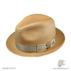 Bailey of Hollywood is bringing to life the center dent sting brim fedora.