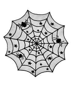 Another great find on #zulily! Spider Web Lace Table Topper #zulilyfinds
