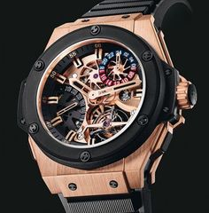 Mens watch - Hublot Tourbillion