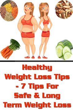 Healthy Weight Loss Tips - 7 Tips For Safe & Long Term Weight Loss Weight Loss Camp, Quick Weight Loss Diet, Healthy Food To Lose Weight, Weight Loss Drinks, Weight Loss Program, Weight Loss Tips, How To Lose Weight Fast, Health Fitness Quotes, Health And Beauty Tips