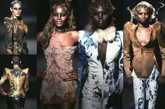 R.I.P McQueen.  Fall/Winter 1997-1998 - It's A Jungle Out There