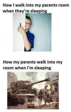 When im sleeping..