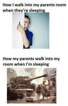 When im sleeping..