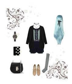 """""""#Flawless Feather challenge 2"""" by mintangel79 ❤ liked on Polyvore featuring Monki, RVCA, Forever 21, Wet Seal, Olivia Burton and Chloé"""