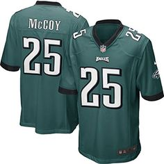 LeSean McCoy 25 Player Men's Short Sleeve T-Shirt 2016-17 Season Game Jerseys Green Size M(40) -- Awesome products selected by Anna Churchill