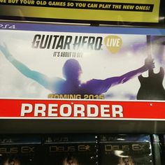 Another #guitarhero game coming out?! Awesome!  Who thinks that we should do a #letsplay of it when it comes out for you to watch?  We could even have some games with you! #spiderhandspnz