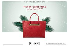 Buone feste da RIPANI! Ti auguriamo un Natale di gioia, stile e glamour! #xmas #christmas #happy #madeinitaly  Season's greeting from Ripani! We wish you a merry Christmas, full of joy, style and glamour!