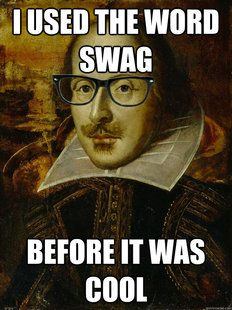 I was ironic before it was cool Hipster Shakespeare Teaching Memes, Student Teaching, National Poetry Month, Learning Theory, English Literature, British Literature, Teacher Humor, Teacher Stuff, Teaching English